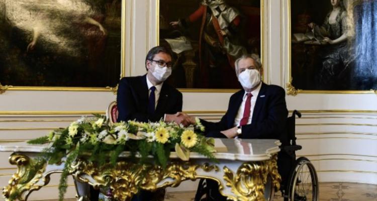 Zeman: Ζητώ συγνώμη για τους βομβαρδισμούς στην ΟΔ της Γιουγκοσλαβίας