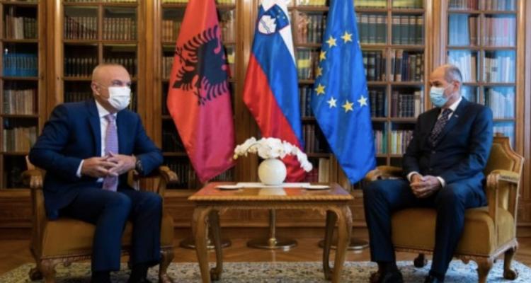 Σλοβενία: Ο Janša υποδέχτηκε τον Αλβανό Πρόεδρο