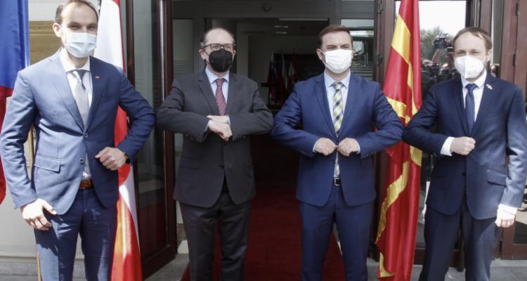 Βόρεια Μακεδονία: Να ξεκινήσουν άμεσα οι ενταξιακές διαπραγματεύσεις θέλουν Αυστρία, Σλοβενία και Τσεχία