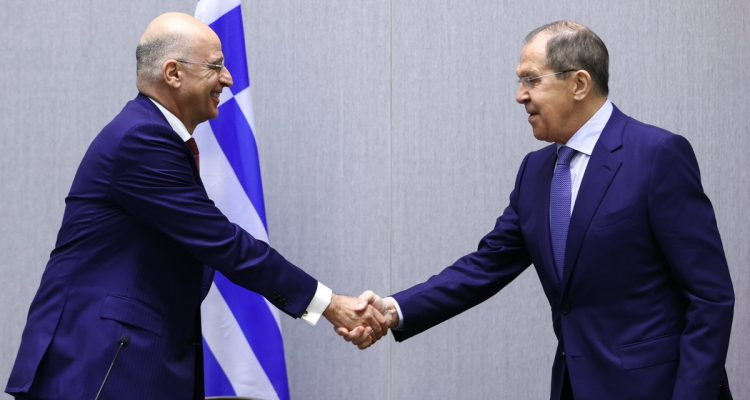 Ελλάδα: Συνάντηση Δένδια Lavrov