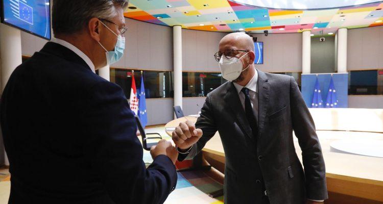 Κροατία: Στις Βρυξέλλες ο Plenković συναντήθηκε με Michel και Johansson