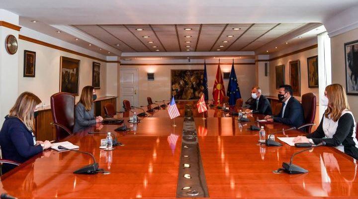 Βόρεια Μακεδονία: Ο Zaev συναντήθηκε με την Αμερικανίδα Πρέσβη
