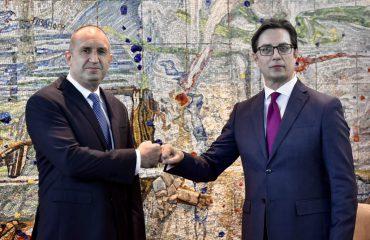 Radev: Έχουμε μια υπέροχη ευκαιρία να ανανεώσουμε το διάλογο με τη Βόρεια Μακεδονία