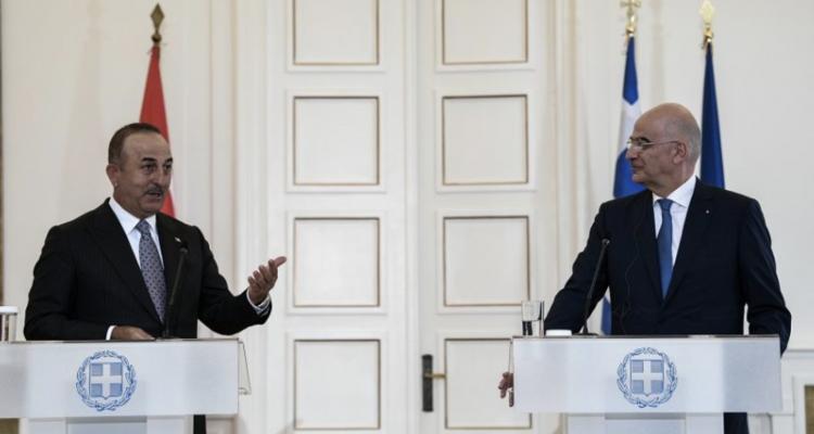 Ελλάδα: Η οικονομική συνεργασία στο επίκεντρο των συζητήσεων Δένδια Cavusoglu