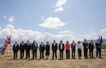 Βόρεια Μακεδονία: Με ανώτερους αξιωματούχους και φόρουμ διαλόγου ο φετινός εορτασμός της Συμφωνίας των Πρεσπών