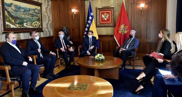 Δύο μέλη της Προεδρίας της Β-Ε επισκέφθηκαν το Μαυροβούνιο