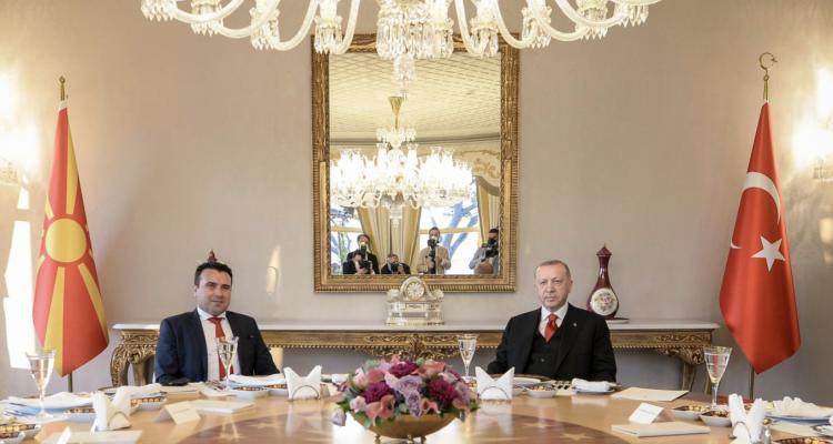 Βόρεια Μακεδονία: Την ενίσχυση της διμερούς συνεργασίας συζήτησαν Zaev Erdogan στην Κωνσταντινούπολη
