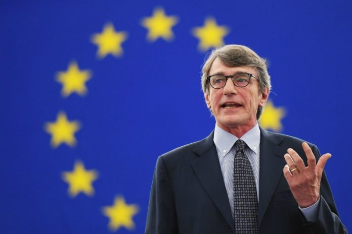 Sassoli: Η διεύρυνση της ΕΕ θα ήταν ένα θετικό βήμα προς την ειρήνη και την ευημερία