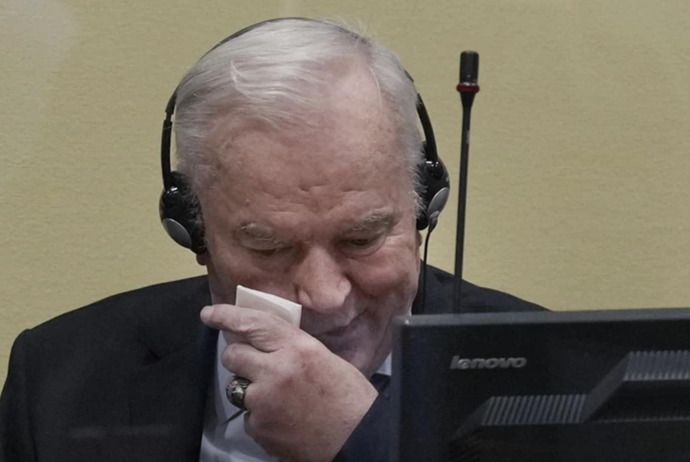 Χαιρετίστηκε η καταδίκη του Mladic από τη Διεθνή Κοινότητα
