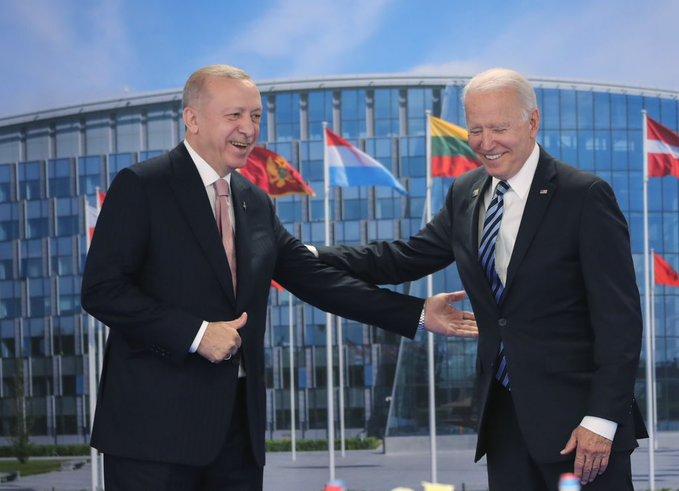 Αισιόδοξοι για τις διμερείς σχέσεις Τουρκίας-ΗΠΑ, Erdogan και Biden