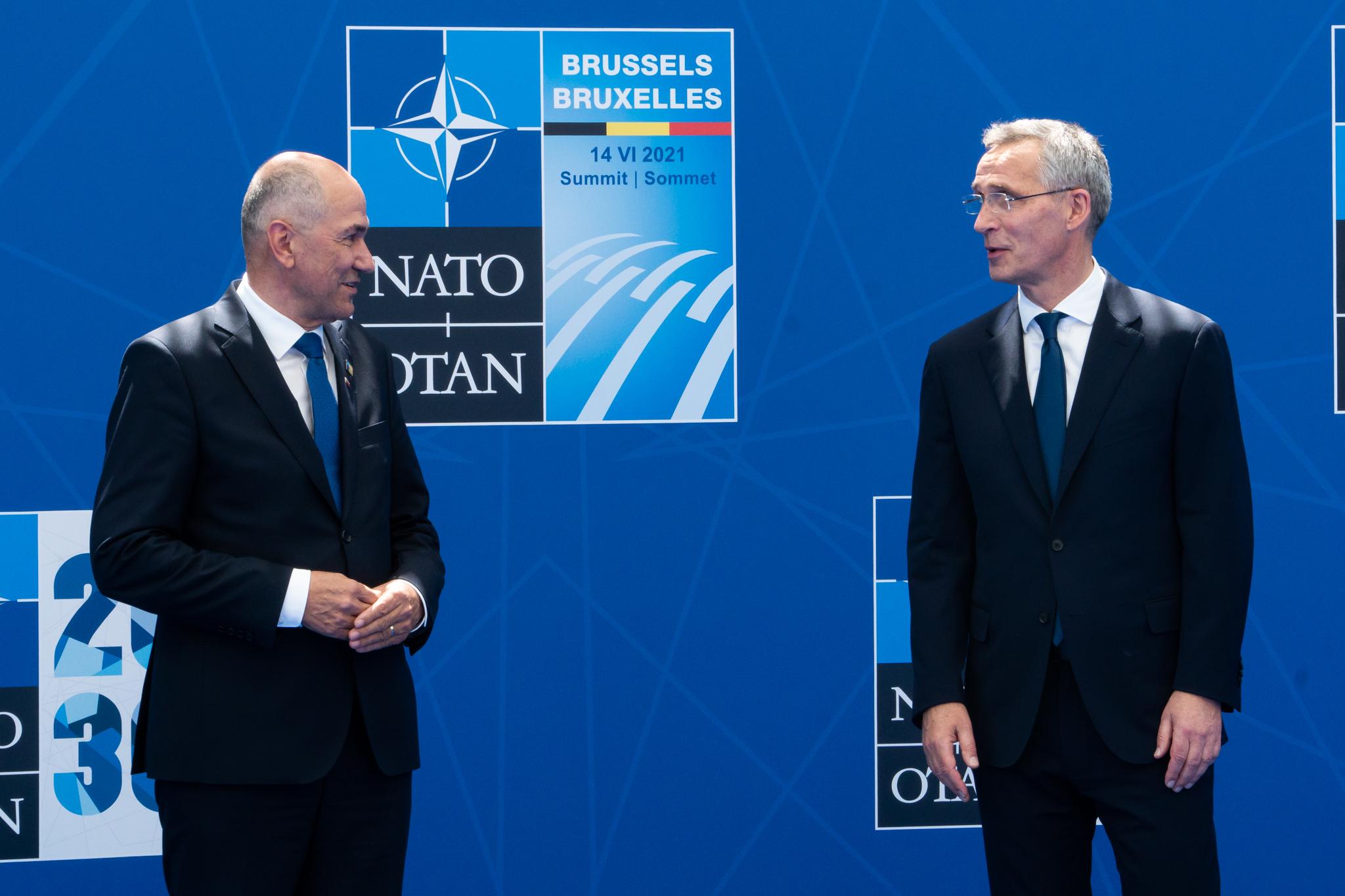 Σλοβενία: Εάν το ΝΑΤΟ δεν επεκταθεί, θα το κάνει κάποιος άλλος, δήλωσε ο Janša