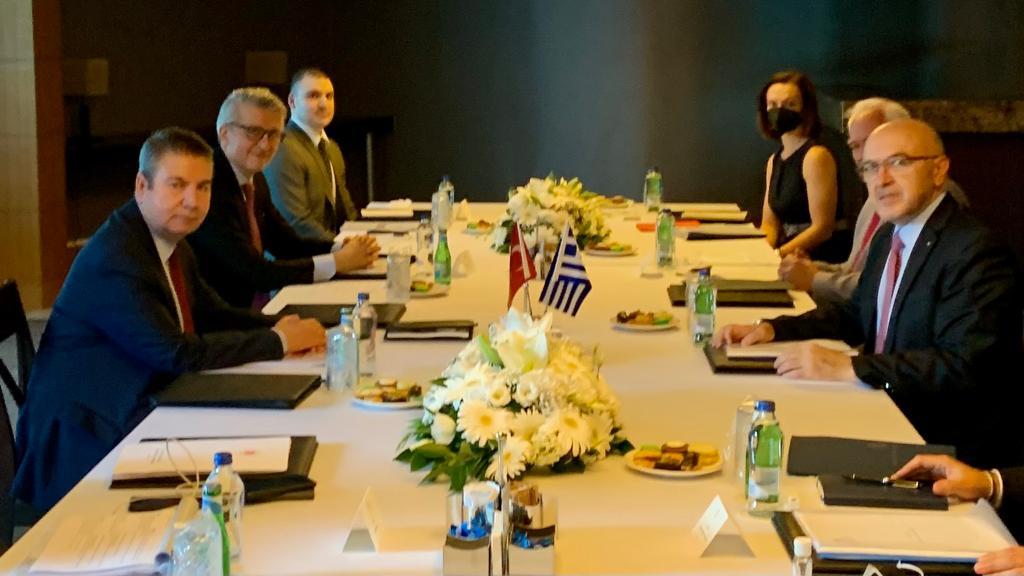 Επισκόπηση της προόδου της θετικής ατζέντας στη συνάντηση Φραγκογιάννη Önal στην Αττάλεια