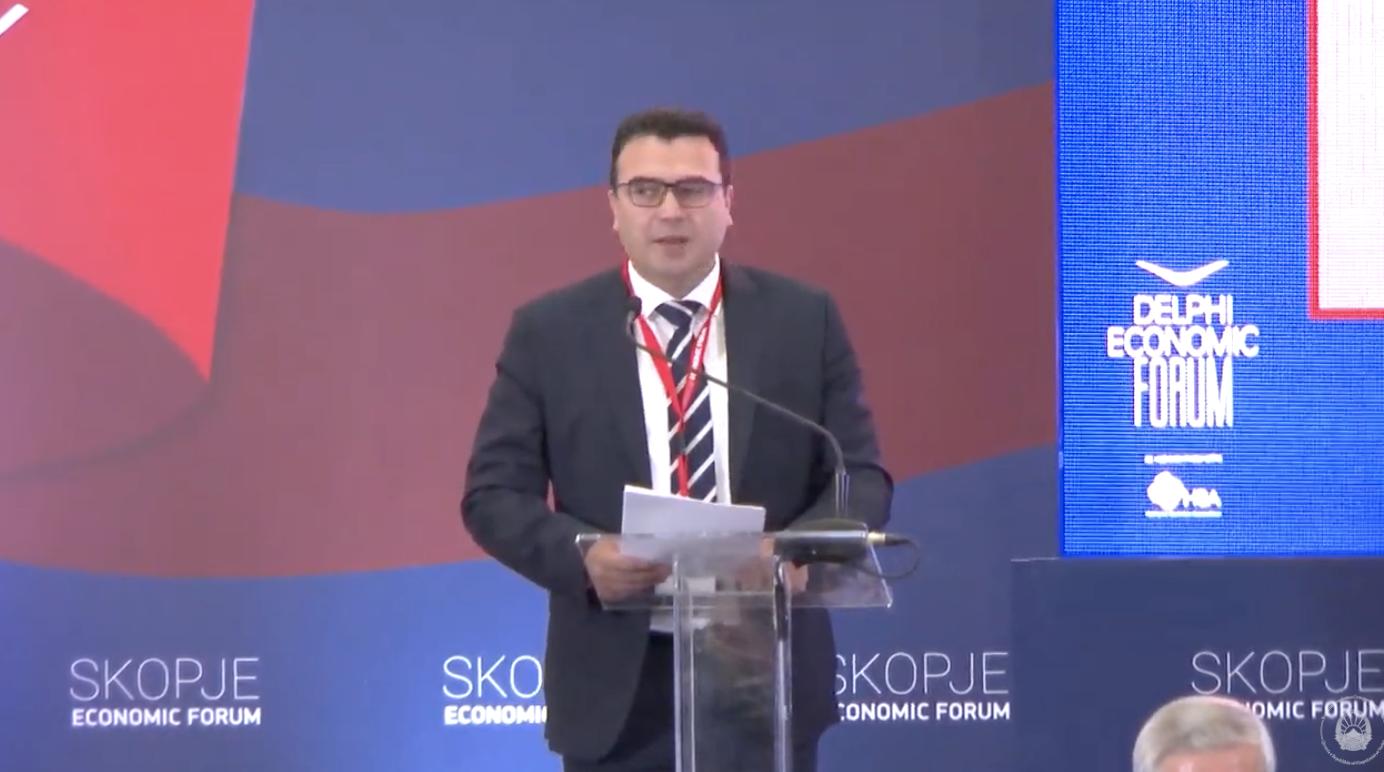 Zaev: Χρειαζόμαστε Βαλκάνια που ζουν στο παρόν και χτίζουν ένα ευημερών μέλλον