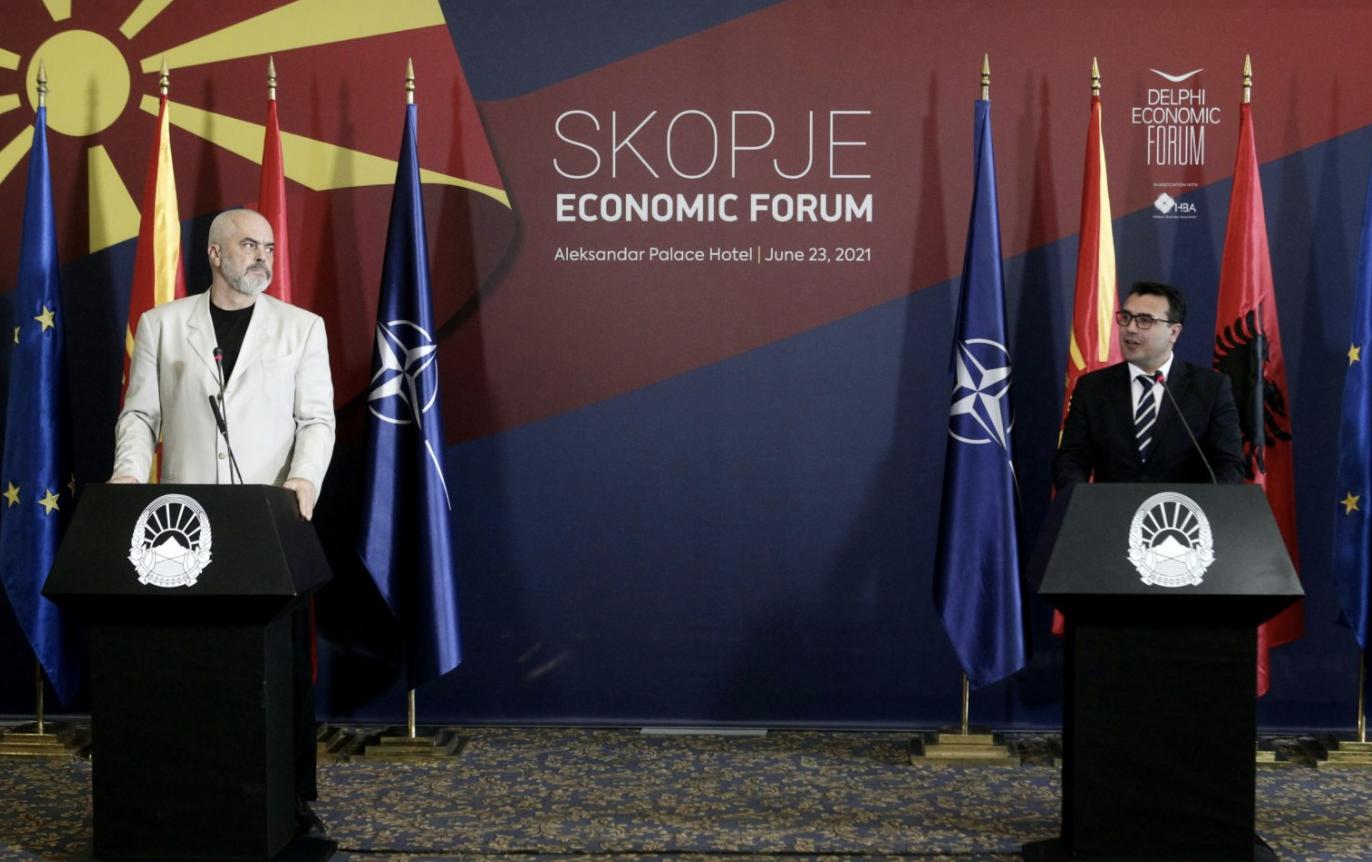 Zaev-Rama: Τα Βαλκάνια υπερασπίζονται τις ευρωπαϊκές αξίες, και όχι η ΕΕ