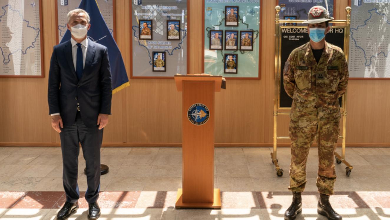 Κοσσυφοπέδιο: Ολοκλήρωσε την επίσκεψη του στην Πρίστινα ο ΓΓ του ΝΑΤΟ