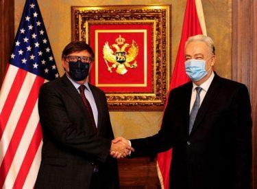 Μαυροβούνιο – ΗΠΑ για την ενίσχυση των διμερών σχέσεων