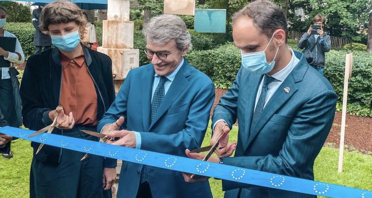 Ο Logar εγκαινίασε το Europe Readr στις Βρυξέλλες με τον Πρόεδρο του ΕΚ Sassoli