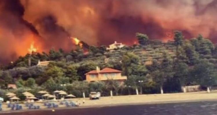 Σε πύρινο κλοιό εν μέσω καύσωνα η Ελλάδα