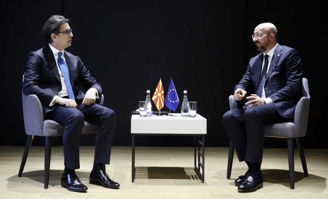 Pendarovski: Η πρώτη διακυβερνητική διάσκεψη στο εγγύς μέλλον είναι βασική προτεραιότητα για εμάς