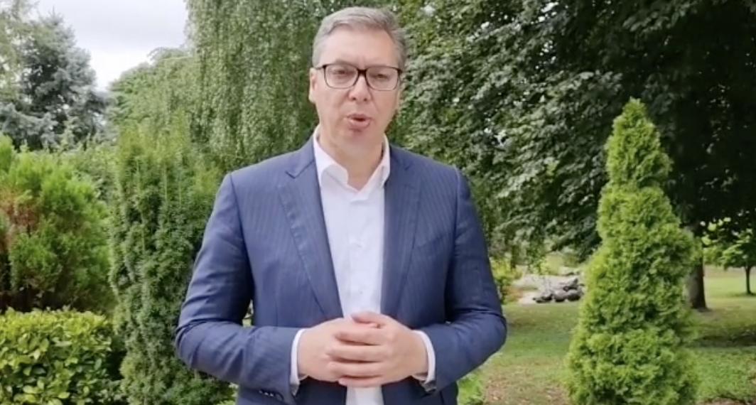 Vučić: «Ο νόμος παραβιάστηκε βάναυσα και κατάφωρα. Καλώ τους Ευρωπαίους και την ΕΕ»