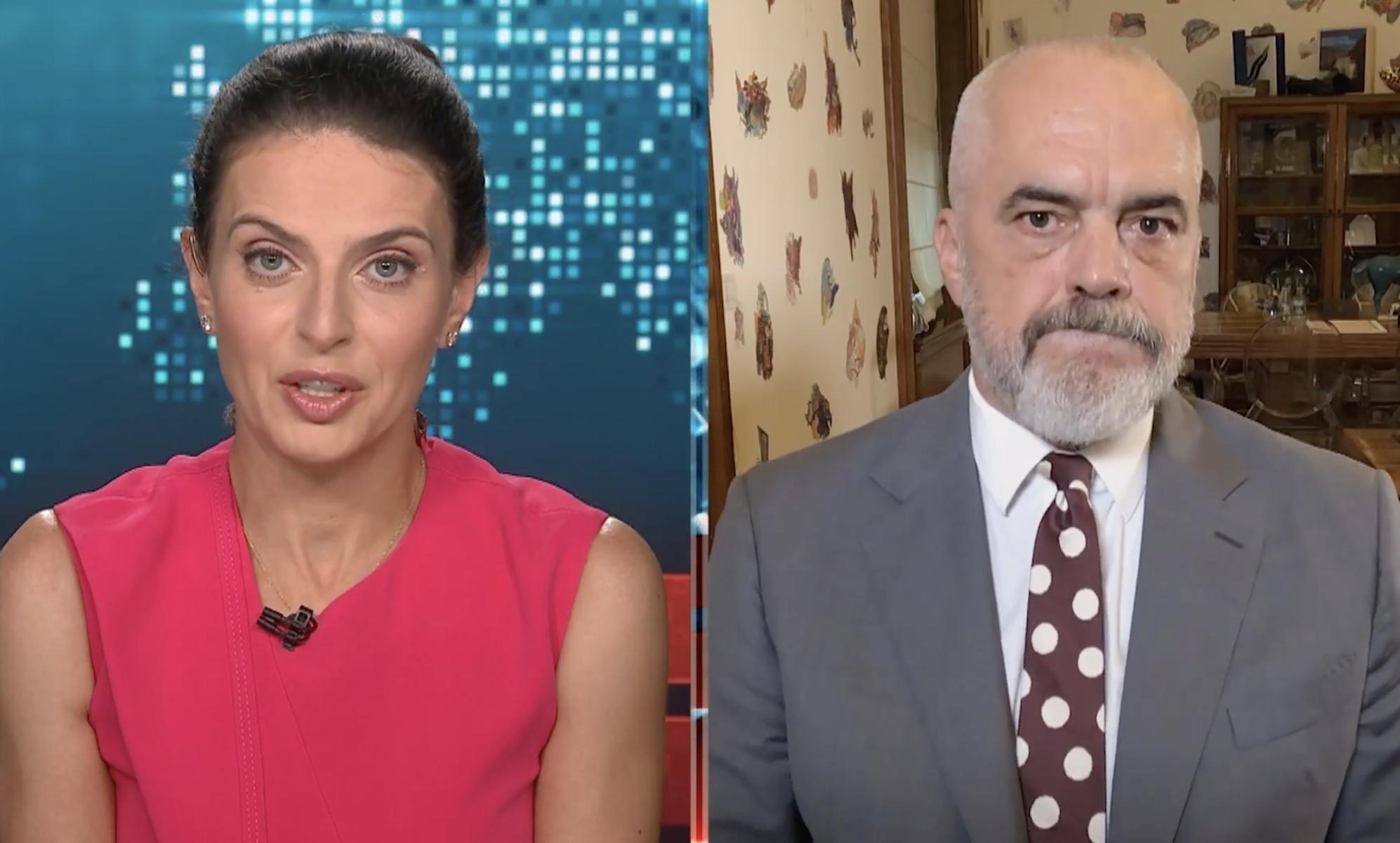 Αλβανία: Θα στεγάσουμε 4000 Αφγανούς πρόσφυγες, δήλωσε ο Rama στο CNN
