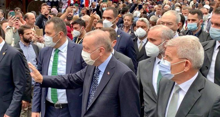 Β -Ε: Ο Erdogan στο γάμο της κόρης του Izetbegović και στη συνέχεια στη συνάντηση με τα μέλη της Προεδρίας