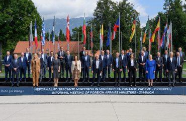 Οι υπουργοί Εξωτερικών της ΕΕ στο Brdo επικεντρώθηκαν στις προσπάθειες της Ένωσης στο Αφγανιστάν