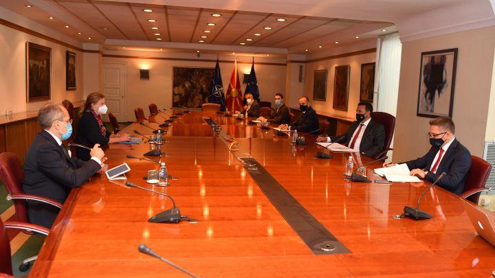 Βόρεια Μακεδονία: Συνάντηση Zaev, Bytyqi και Besimi με αντιπροσωπεία της Παγκόσμιας Τράπεζας