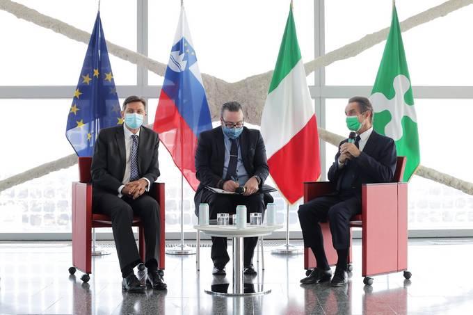 Ο πρόεδρος της Σλοβενίας Pahor ολοκλήρωσε την επίσκεψή του στο Μιλάνο