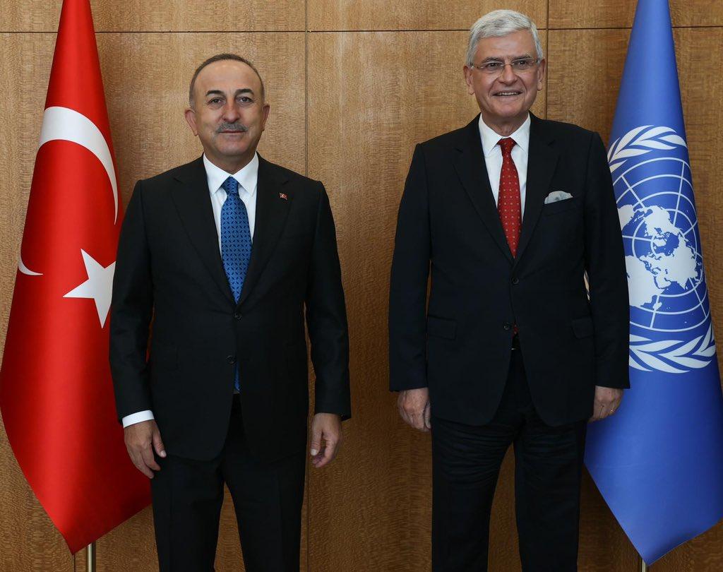 Τουρκία: Ολοκλήρωσε την θητεία του ο Τούρκος Πρόεδρος της ΓΣ των ΗΕ