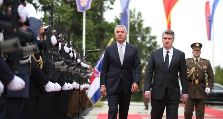 Ο Πρόεδρος του Μαυροβουνίου Đukanović πραγματοποιεί επίσημη επίσκεψη στην Κροατία