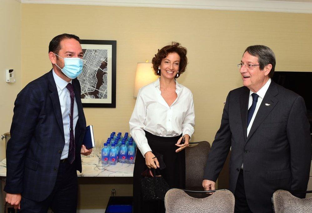 Κύπρος: Ο Πρόεδρος της Δημοκρατίας άρχισε τις επαφές του στη Νέα Υόρκη