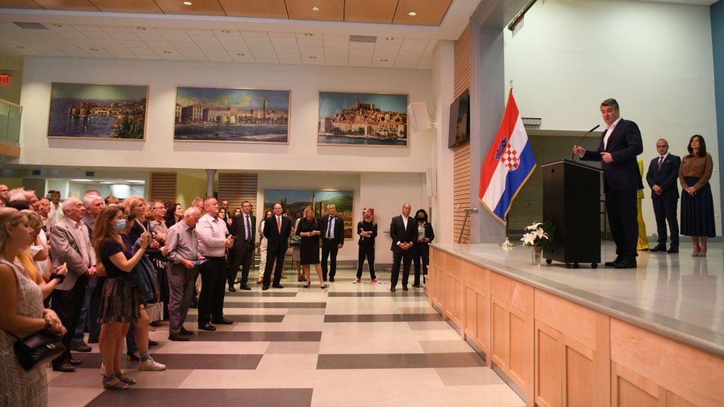 Η Κροατία δεν ήταν ποτέ πιο σταθερή, είπε ο Πρόεδρος Milanović από τη Νέα Υόρκη