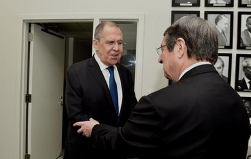 Κύπρος: Συνάντηση Αναστασιάδη με Lavrov