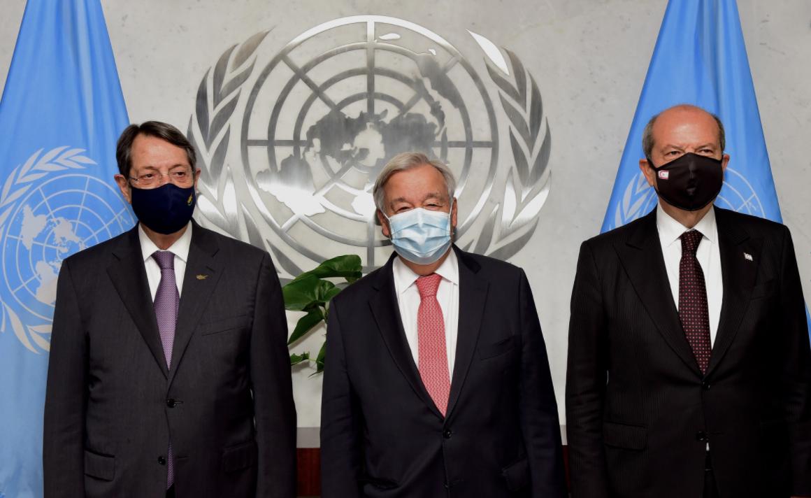 Κύπρος: Πραγματοποιήθηκε η άτυπη συνάντηση Αναστασιάδη-Guterres-Tatar στη Νέα Υόρκη