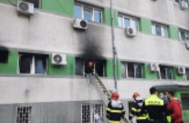 Ρουμανία: 9 νεκροί από πυρκαγιά σε νοσοκομείο Covid στην Κωστάντζα