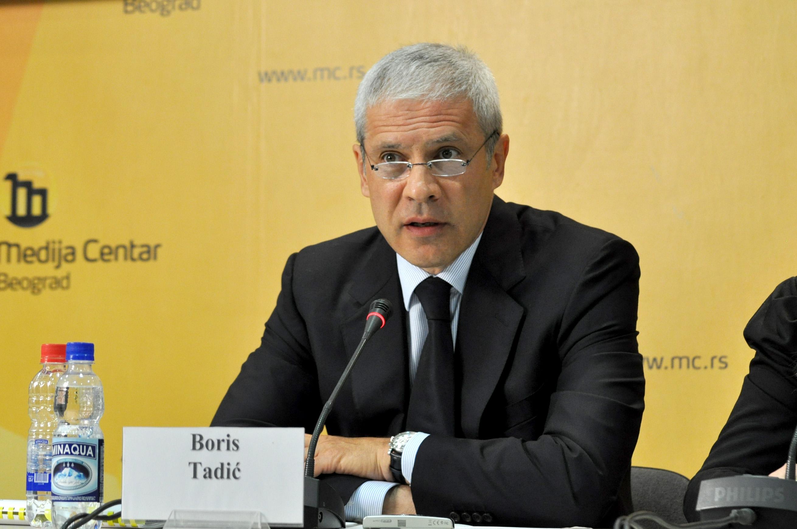 Boris Tadić za bojkot izbora