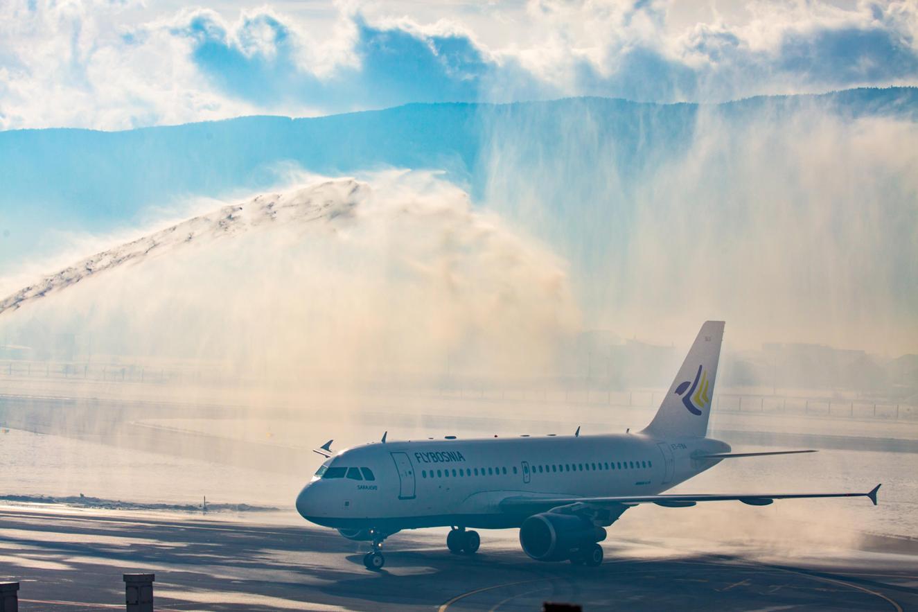 Sarajevska kompanija FlyBosnia pokrenula avioliniju za Rim