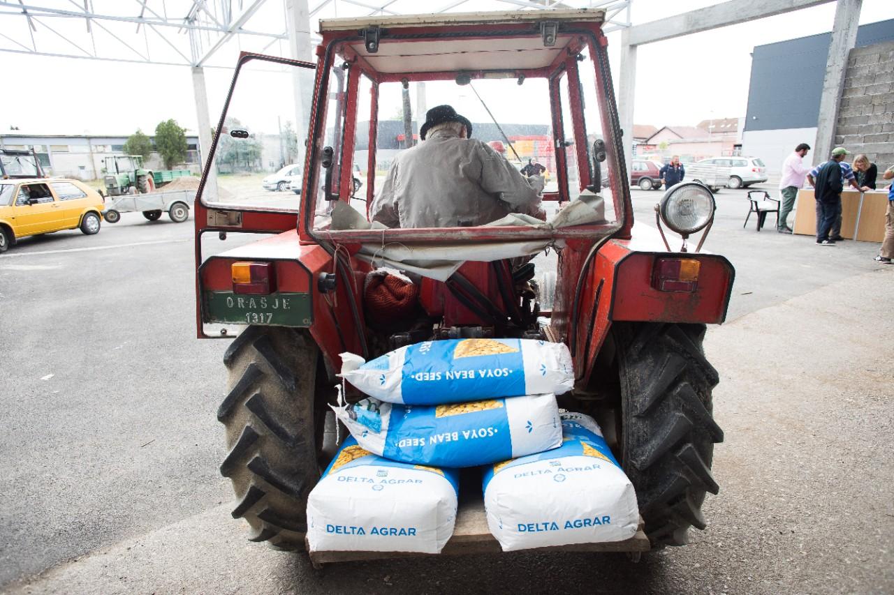 Proizvođači soje u BiH podržani od strane UNDP-a i EU