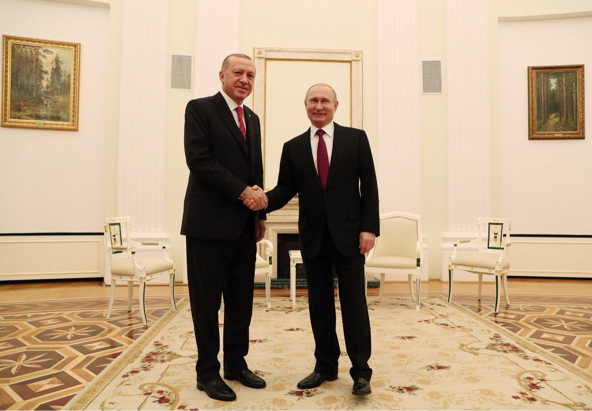 Putin upućuje Erdogana na razgovor sa Damaskom o neutralnoj zoni