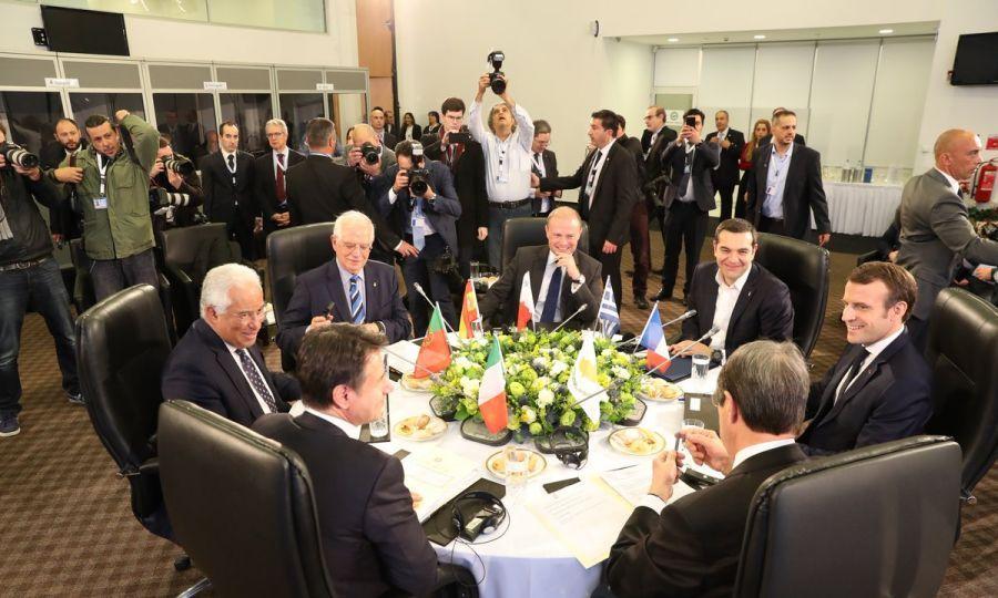 Lideri MED7 naglašavaju značaj učešća EU u razgovorima o Kipru