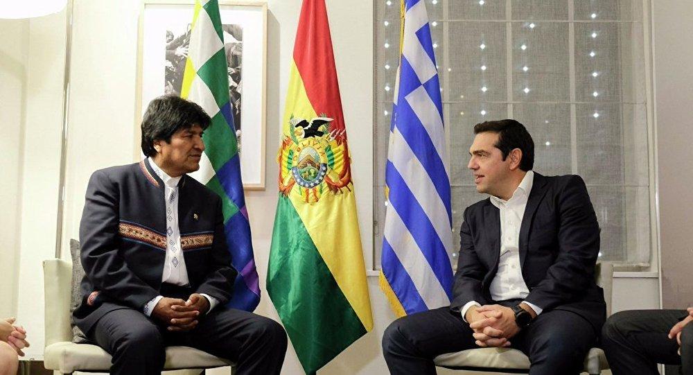 Evo Morales će se sastati sa Aleksisom Ciprasom u Atini
