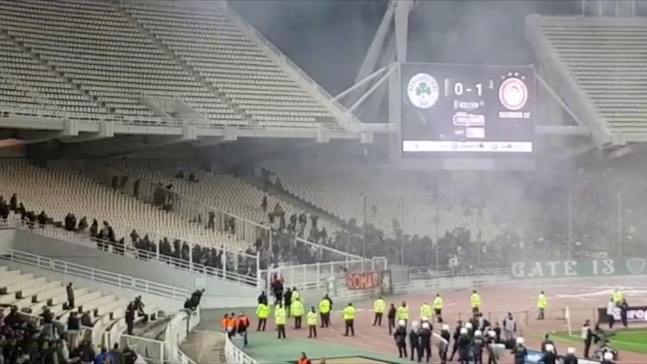 Prva primena novog strožeg sportskog zakona u Grčkoj nakon novih nasilnih epizoda