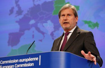 Komesar EU Hahn osuđuje akte nasilja u Albaniji