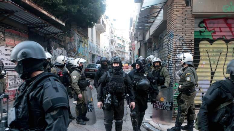 Velika policijska operacija u Eksarheji, u centru Atine