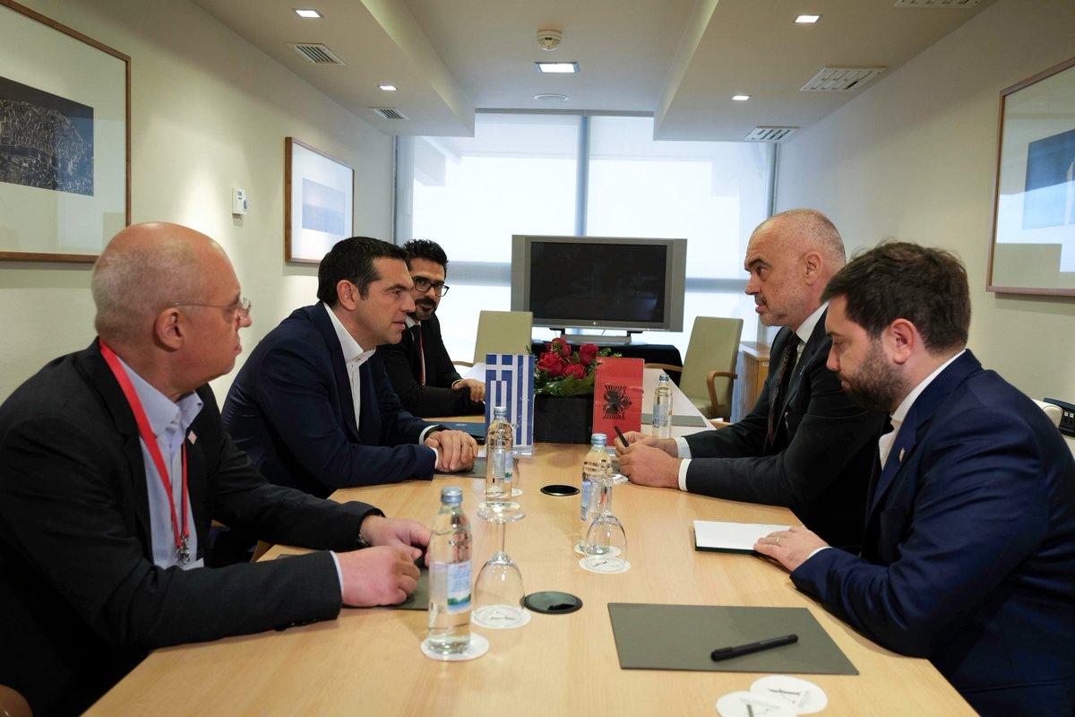Premijer Albanije, Edi Rama, komenarisao sastanak sa grčkim kolegom Ciprasom u Dubrovniku