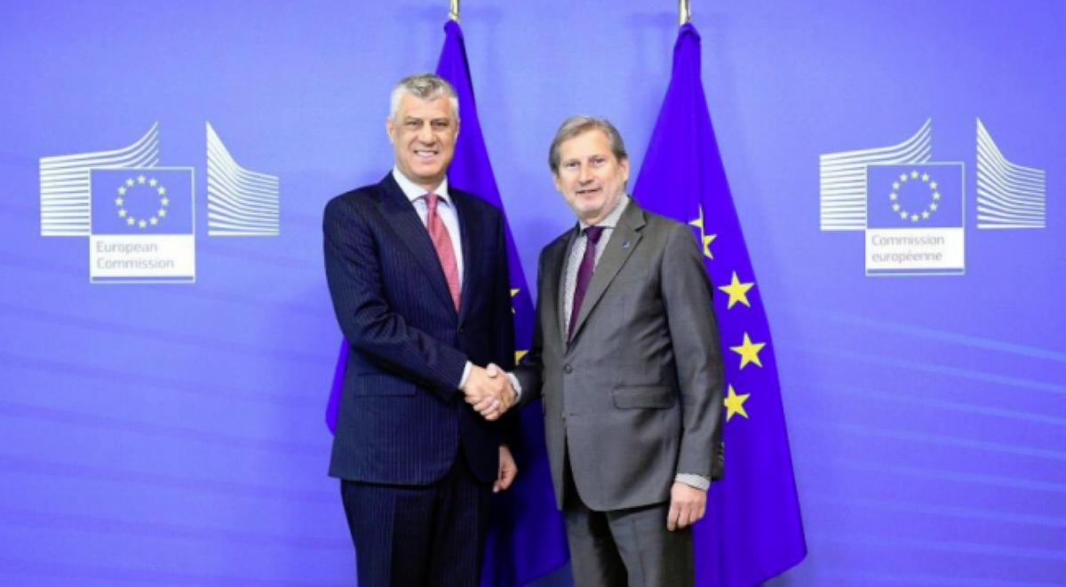 Brza odluka o liberalizaciji viznog režima je od suštinskog značaja za Kosovo, kaže predsednik Tači