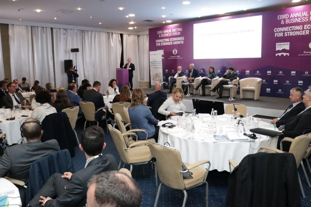 Sarajevo domaćin godišnjeg sastanka Upravnog odbora EBRD-a