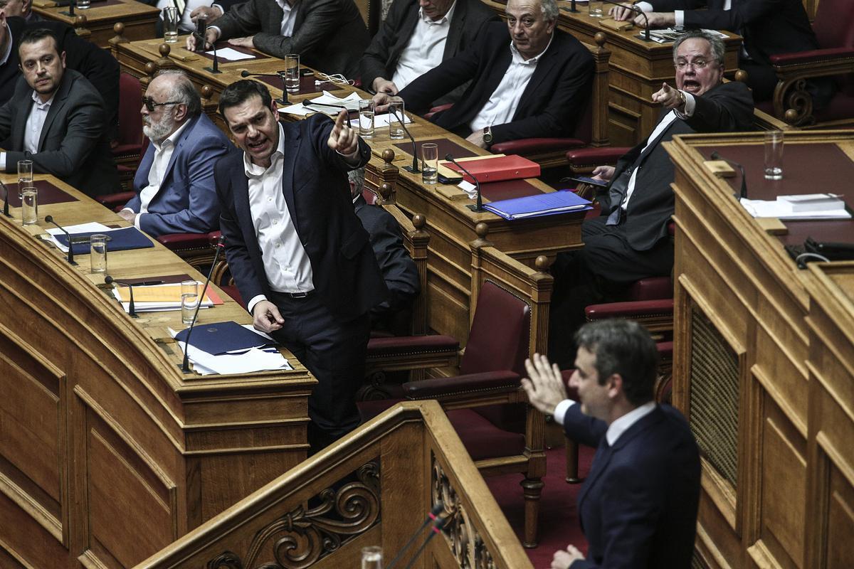 Tsipras i Mitsotakis se obraćaju biračima uoči evropskih izbora