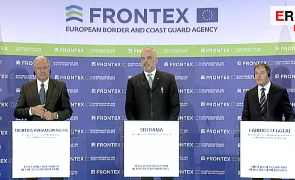 Albanija i Frontex pokreću prvu zajedničku operaciju izvan EU